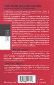 Les Faucons De La Maison-blanche - 4ème de couverture - Format classique