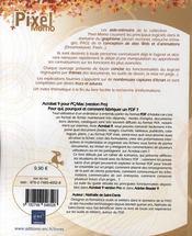 Acrobat 9 pour PC/Mac (version Pro) ; pour qui, pourquoi et comment fabriquer un PDF ? - 4ème de couverture - Format classique