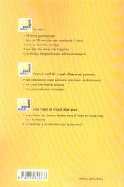 Ese Este Aquel L'Essentiel De La Grammaire Espagnol Rappels Grammaticaux Exercices Et Corriges - 4ème de couverture - Format classique
