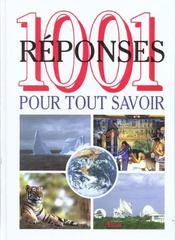 1001 Reponses Pour Tout Savoir - Intérieur - Format classique