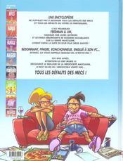 Tous les défauts des mecs t.2 - 4ème de couverture - Format classique