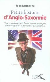 Petite histoire d'Anglo-Saxonnie - Intérieur - Format classique