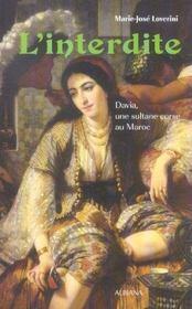 L interdite - davia, une sultane corse au maroc - Intérieur - Format classique