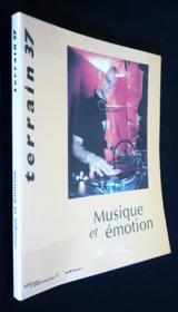 TERRAIN N.37 ; musique et émotion - Couverture - Format classique