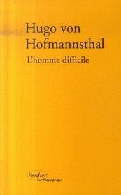 L'homme difficile - Intérieur - Format classique