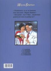 Wayne Shelton T.5 ; La Vengeance - 4ème de couverture - Format classique