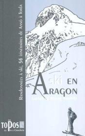 À ski en Aragon - Couverture - Format classique