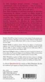 La mystique, une religion épurée - Couverture - Format classique