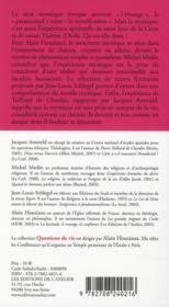 La mystique, une religion épurée - 4ème de couverture - Format classique