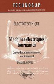 Machines électriques tournantes - Intérieur - Format classique