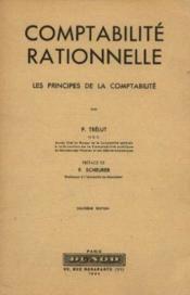 Comptabilité rationnelle: les principes de la comptabilité - Couverture - Format classique