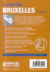 Bruxelles - 4ème de couverture - Format classique