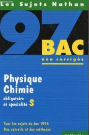 Physique - Chimie Terminale S (Oblig + Spe) - Couverture - Format classique