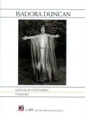 Isadora duncan - Couverture - Format classique
