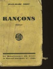 Rancons - Couverture - Format classique