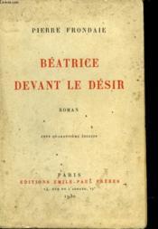 Beatrice Devant Le Desir - Couverture - Format classique