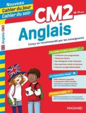 CAHIERS DU JOUR/ SOIR ; anglais ; CM2 - Couverture - Format classique