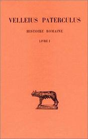 Histoire romaine t.1 ; L1 - Intérieur - Format classique