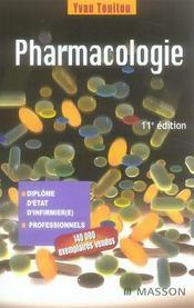 telecharger Pharmacologie (11e edition) livre PDF en ligne gratuit