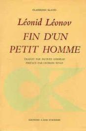 Fin D'Un Petit Homme - Couverture - Format classique