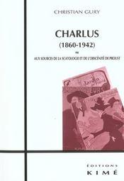 Charlus (1860-1951) - Intérieur - Format classique