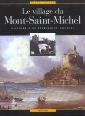 Le village du Mont-Saint-Michel - Intérieur - Format classique