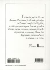 Revue Commentaire N.122 - 4ème de couverture - Format classique