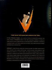 Voyageur ; présent t.1 - 4ème de couverture - Format classique