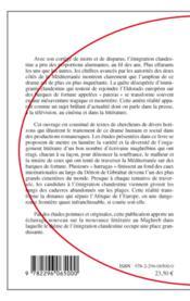 Clandestins dans le texte maghrébin de langue française - 4ème de couverture - Format classique