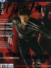 CINE LIVE - N° 67 - X-MEN 2 VS DAREDEVIL - le plein de super (héros) - Couverture - Format classique