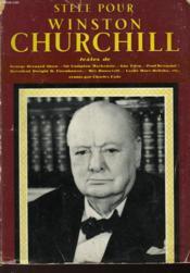 Stele Pour Winston Churchill - Couverture - Format classique