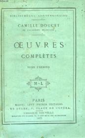 Oeuvres Completes De Camille Doucet, 2 Tomes - Couverture - Format classique