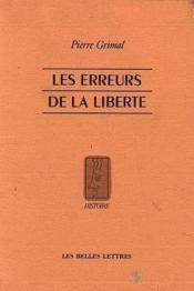 Erreurs de la liberte (les) - Couverture - Format classique