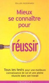 Mieux Se Connaitre Pour Reussir - Intérieur - Format classique