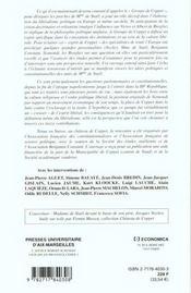 Coppet Creuset De L'Esprit Liberal ; Les Idees Politiques Et Constitutionnelles Du Groupe De Madame De Stael - 4ème de couverture - Format classique