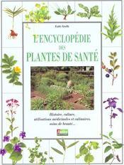 L'encyclopedie des plantes de sante - Intérieur - Format classique