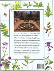 L'encyclopedie des plantes de sante - 4ème de couverture - Format classique