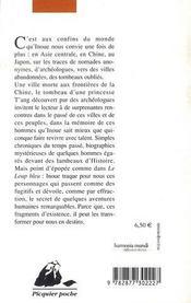 Lou-lan - 4ème de couverture - Format classique