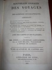 NOUVELLES ANNALES DES VOYAGES et des sciences géographiques.., T 76. - Couverture - Format classique