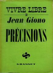 Vivre Libre 2.Precisions. - Couverture - Format classique