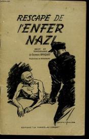 Rescape De L Enfer Nazi - Couverture - Format classique