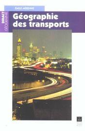 Géographie des transports - Intérieur - Format classique