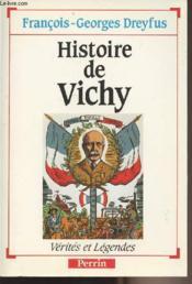 Histoire De Vichy - Couverture - Format classique