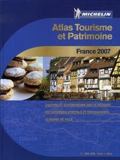 Atlas tourisme et patrimoine france (édition 2007) - Intérieur - Format classique