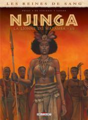 Les reines de sang - Njinga, reine d'Angola T.1 - Couverture - Format classique