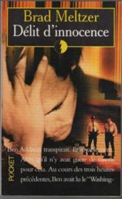 Delit D'Innocence - Couverture - Format classique