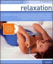 Relaxation ; énergie & sérénité - Couverture - Format classique