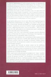 Une Introduction A La Geometrie Projective - 4ème de couverture - Format classique