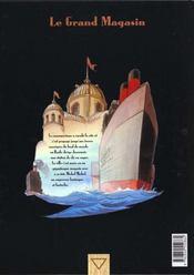 Le fond du monde t.4 ; le grand magasin - 4ème de couverture - Format classique