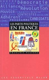 Les partis politiques en france - Intérieur - Format classique